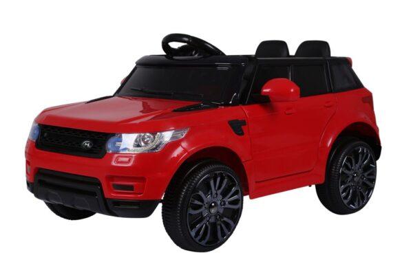 azeno rapid racer rød elbil børn