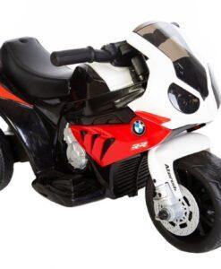 bmw s1000 rød elmotorcykel børn