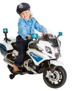 bmw r1200 politi elmotorcykel børn