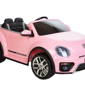 elbil børn vw beetle pink