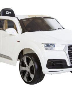 el-bil børn audi q7 hvid