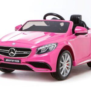 elbil børn mercedes s63 pink